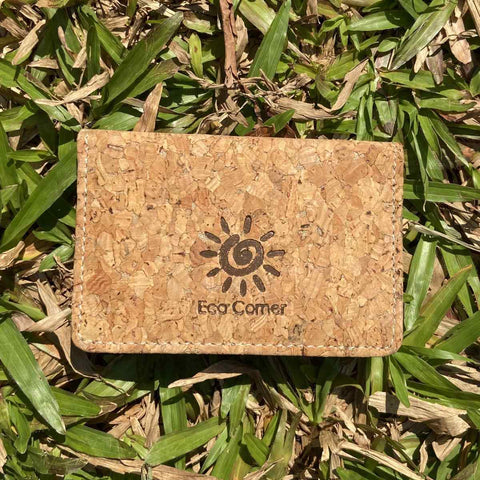 Card Holder Made With 100% Natural Cork