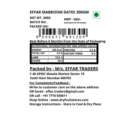 Effar Mabroom Dates