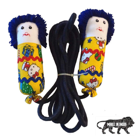 Skipping Ropes for Kids (Electric Blue and Yellow)