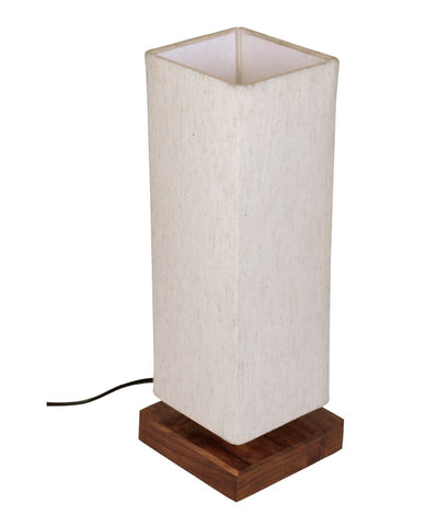 Elegant Handcrafted Decorative Wooden Table Lamp