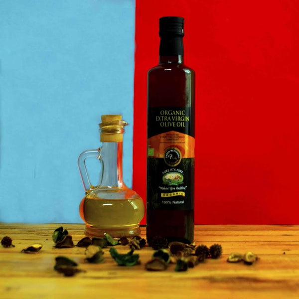 Organic Extra-Virgin Olive Oil (100% Natural) at Qtrove