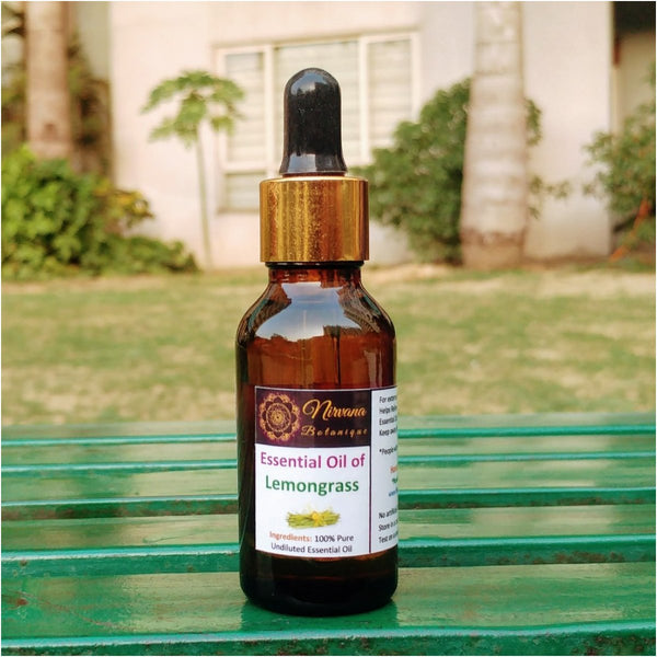 Essential Oil of Lemongrass (100% Pure)(36 ml) at Qtrove