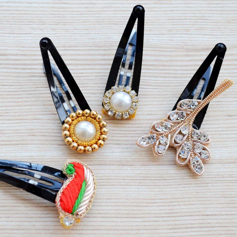 Ethnic Hair Clip (Set of 4)
