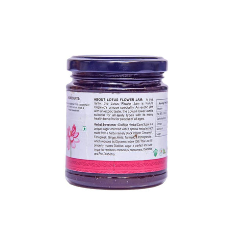Exotic Lotus Flower Jam With Herbal Sweetener