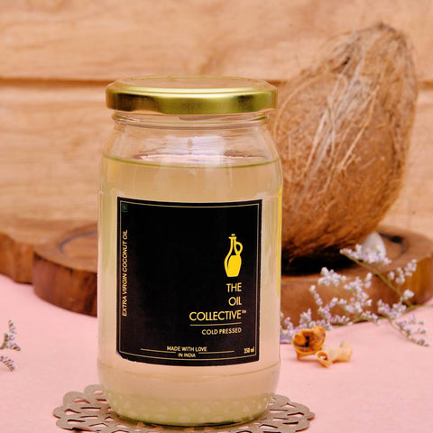 Cold Pressed Extra Virgin Coconut oil (350 ml)