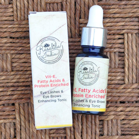 Vitamin E Fatty Acids Protein Enriched Eyelashes And Eyebrows Serum