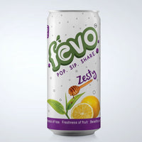 Zesty : All Natural, Refreshing Fizzy Drink (Pack Of 6 Cans)