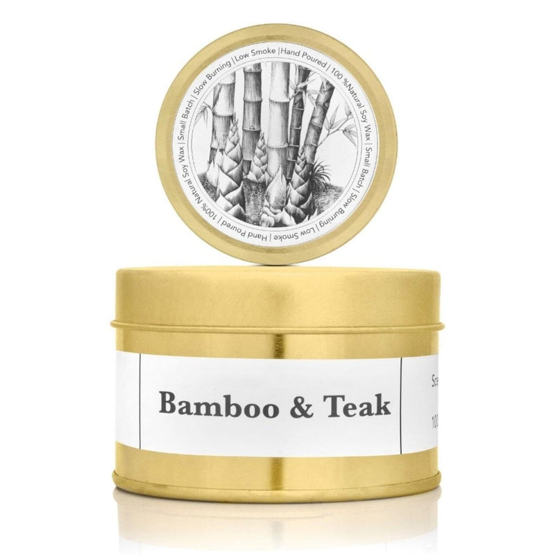 Bamboo & Teak (Scented Candles)