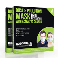 BodyGuard Anti Dust & Pollution Face Mask For Men & Women (PM 2.5)