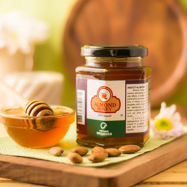 All Natural Almond Honey at Qtrove