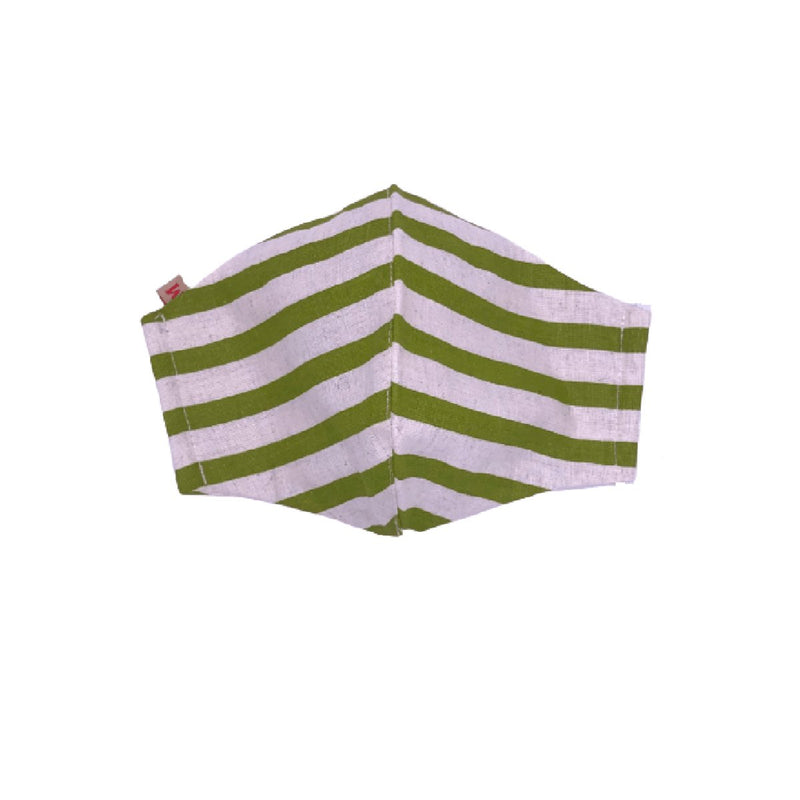 Face Mask (Cloth) - Reusable, Washable, Anti Pollution (Green)