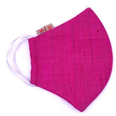 Face Mask (Cloth) - Reusable, Washable, Anti Pollution (Pink)