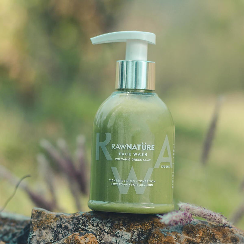 Face Wash (Volcanic Green Clay)