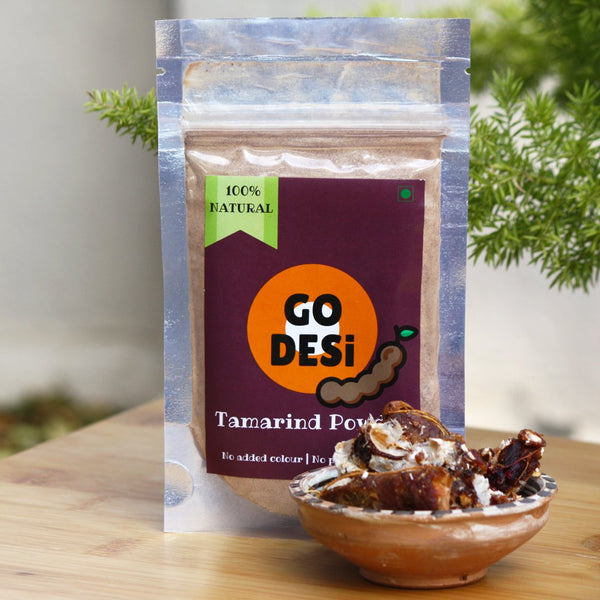 100% Natural Tamarind Powder (No Added Colour) (Pack of 5) at Qtrove