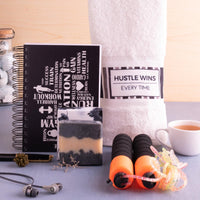 Fit Father Combo (1 Fitness Notebook ,1 Hand Towel, 1 Charcoal Soap and 1 Skipping Rope)