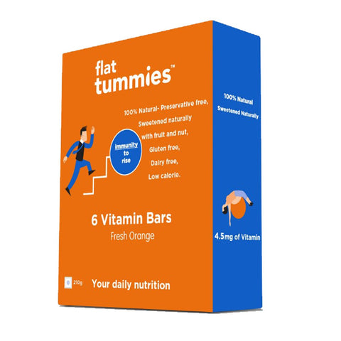 Vitamin Bar With Fresh Orange