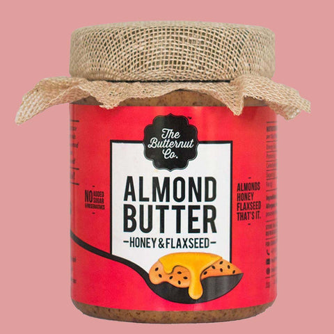 Flax Seed Honey Almond Butter