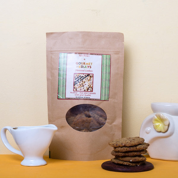 All Natural Flaxseed Cookies (No Additives) at Qtrove