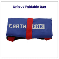 Foldable Shopping Bags (Set of 2) (Dark Blue)