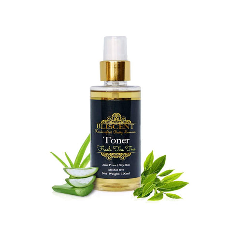 Fresh Tea Tree Toner (For Oily and Acne Prone Skin)