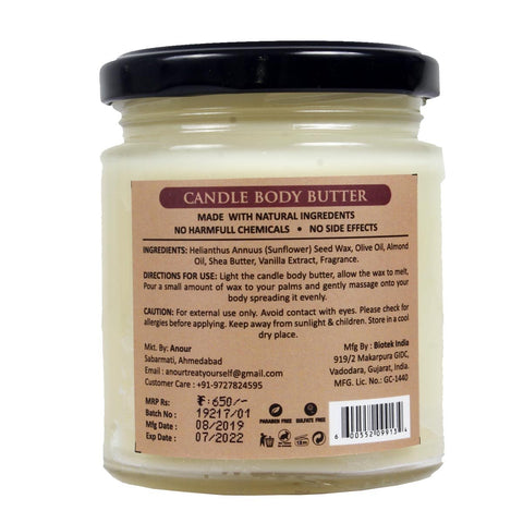 Frosted Vanilla Candle (Body Butter)