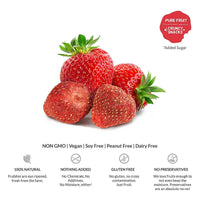 Freeze-Dried Snack,  Pure Strawberry (Pack of 3)