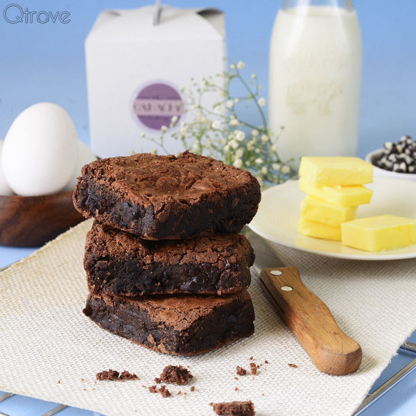 45% Dark Chocolate Chip Brownie (Pack of 3)