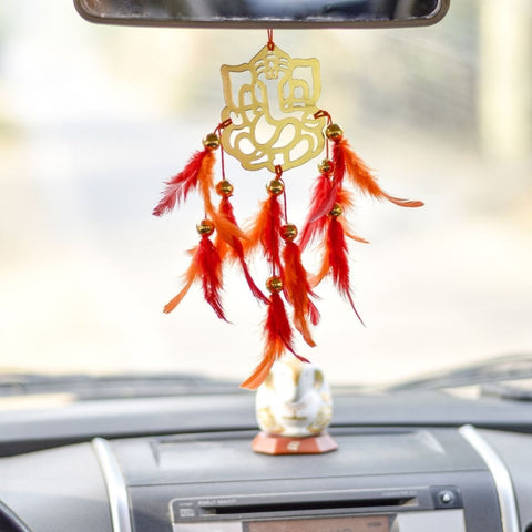 Ganesh Wall Hanging ( Car And Indoor-Outdoor)(Pack of 2)