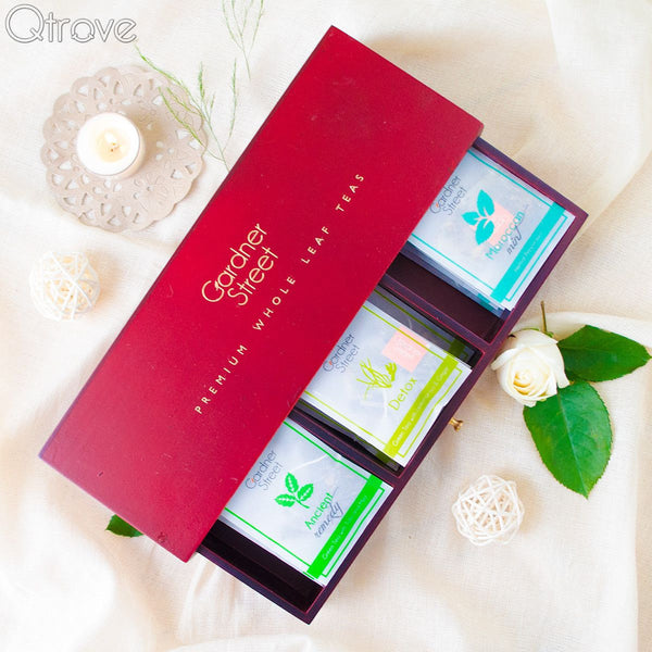 Tea Set Drawer Box (Set of 3) at Qtrove
