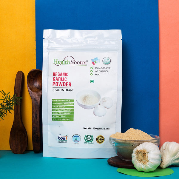 100% Organic Garlic Powder (Pack of 3) at Qtrove