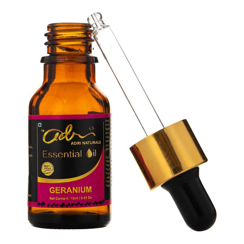 Geranium Essential Oil (100% Pure)