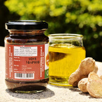 Ginger Herbal Pickle With Olive Oil (Pack of 2)