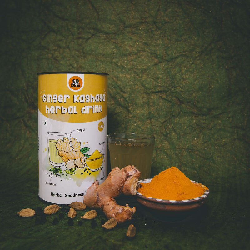 Ginger Kashaya Herbal Drink Powder