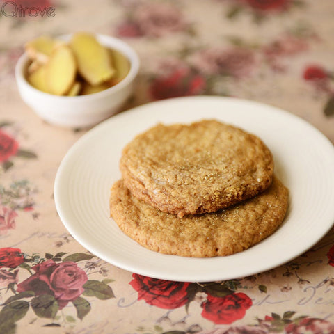 Sparkling Ginger Cookies