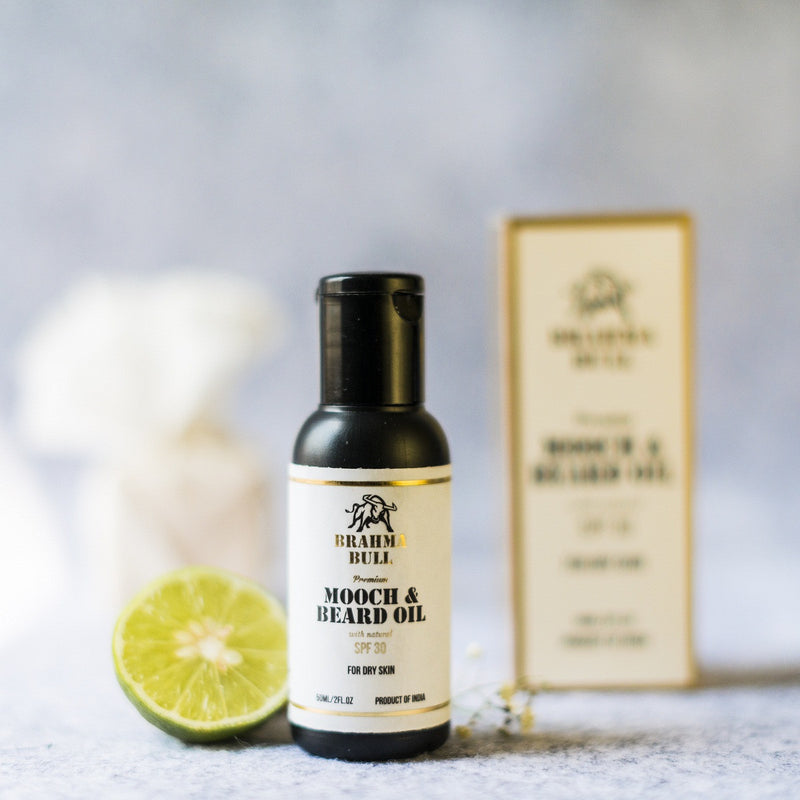 Paraben-Free Mooch And Beard Oil For Dry Skin