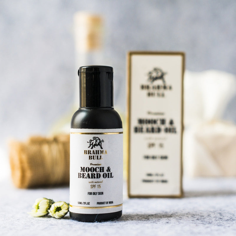 Paraben-Free Mooch And Beard Oil For Oily Skin