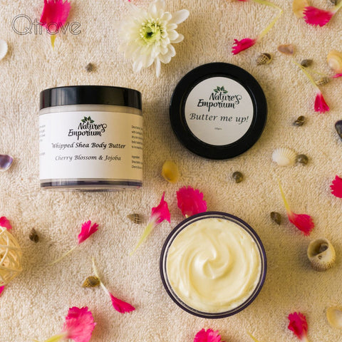 Handmade Cherry Blossom And Jojoba Whipped Shea Body Butter