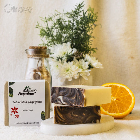 Handmade Patchouli And Grapefruit Soap