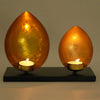 Glowing Lotus Petals Tealight Holder (Golden)