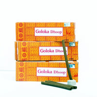 Goloka Dhoop Stick  Pack Of 12 ( 10 Sticks In Each Pack)