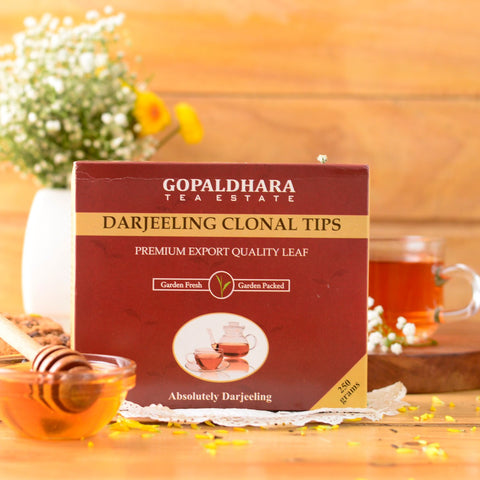 Gopaldhara Darjeeling Clonal Tips - Black Tea