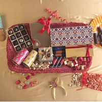 Grand Diwali Dhamaka Dry Fruits and Chocolate Hamper