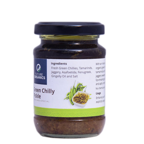 Green Chilly Pickle (Pack of 2)