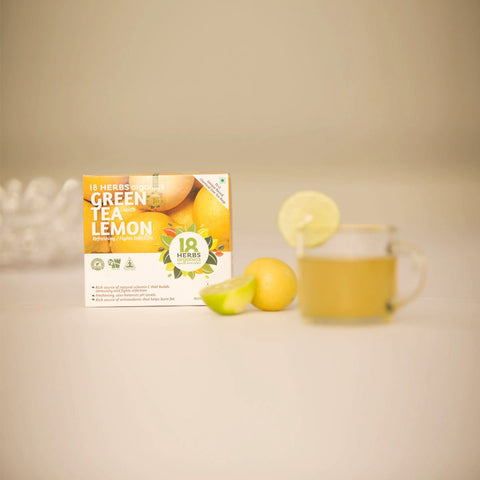 Green Tea With Lemon (Pack Of 2)