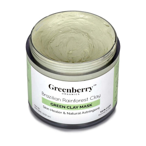 Brazilian Rain Forest Green Clay Mask