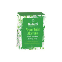 Neem, Tulsi, Aloevera Herbal Handmade Soap (Pack Of 3)