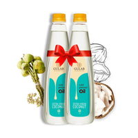 Cold Pressed Extra Virgin Coconut Oil (Pack of 2)