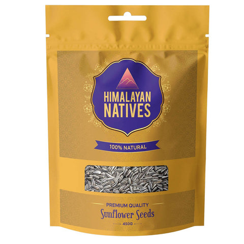Himalayan Natives 100% Natural Sunflower Seeds
