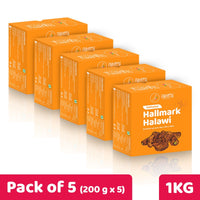 Hallawi Dates  (Pack Of 5)