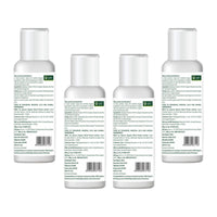 Hand Sanitizer With 70% Alcohol (Pack of 4)